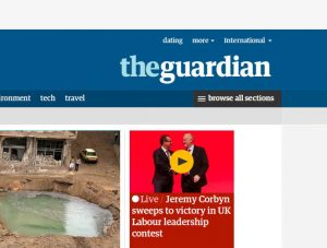 Guardian weekend where art thou …