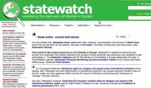 Statewatch web