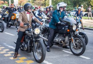 Moustache, collar and tie? Where was I? Riding DGR Brussels, where else?